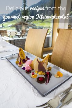 The proprietors of our local inns and restaurants are giving some of their top secrets away. You can now cook some delicious recipes from the Kleinwalsertal beef and game gourmet region yourself. Delicious Recipes, Yummy Food, Restaurants, Beef, Cook, Canning, Game, Gourmet, Meat