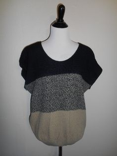 Vintage 80s  Sweater top shirt               by ATELIERVINTAGESHOP