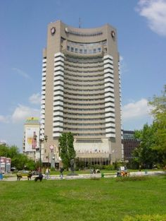 The Intercontinental Hotel in Bucharest (built in Visit Romania, Bucharest, Marina Bay Sands, Dolores Park, Europe, Country, Architecture, City, Building