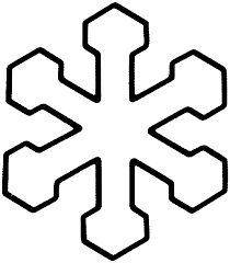 Resultado de imagem para molde de flocos de neve estrelas e anjos em eva