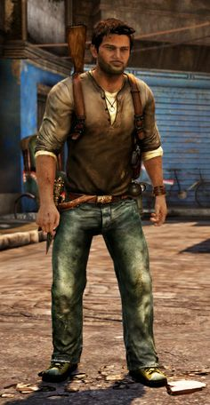 Nathan Drake from Uncharted 2. Already did it for D*C 2011, but not completely happy with it (esp the jeans).