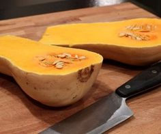 How to Bake Butternut Squash! Making with dinner tomorrow for cor & I!!