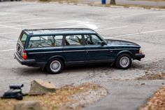 This 1993 Volvo 240 Wagon shows 103k miles and was with the same family until recently purchased by the seller. Ordered with optional wheels, cargo cover, and heated seats, this example is powered by a 2.3 liter inline-four paired to an automatic. It recently received a new timing belt, water pump,