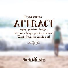 """Attracting everything positive"" by Mandy Hale"