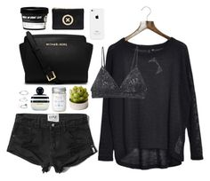 """Untitled #212"" by mheeep ❤ liked on Polyvore featuring Abercrombie & Fitch, Marc Jacobs, MICHAEL Michael Kors, Pandora and RVCA"