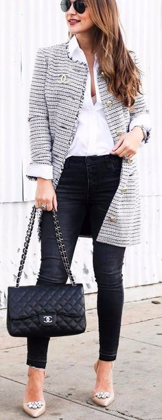 office outfit idea | simple casual style