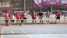 Día de la Raqueta en las pistas del polideportivo Villafontana