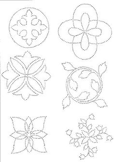 The Latest Trend in Embroidery – Embroidery on Paper - Embroidery Patterns Tin Can Art, Tin Art, Tin Can Crafts, Metal Crafts, Paper Embroidery, Embroidery Patterns, Candlewicking Patterns, Embroidery Stitches, Punched Tin Patterns