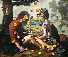 Creative Mixed, Media, Nicholas, Mottola, and Jacobsen image ideas & inspiration on Designspiration Emoji Symbols, Art Pieces, Mixed Media, Collage, Behance, Creative, Illustration, Inspiration, Image