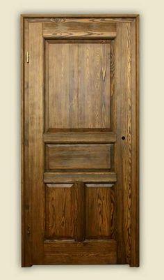 Drzwi wewnętrzne, drewniane COTTAGE + montaż i transport domRustykalny.pl
