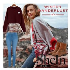 """winter wanderlust :)"" by harisberba ❤ liked on Polyvore featuring American Eagle Outfitters and George"
