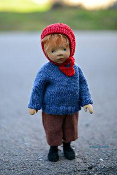 vikingR  Wooden doll by Elisabeth Pongratz