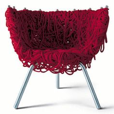 Fernando and Humberto Campana 'Vermelha Armchair' for Edra.