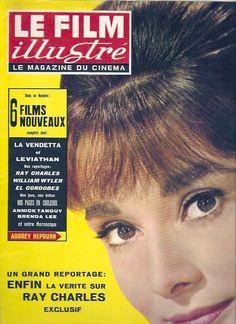 AUDREY HEPBURN LE FILM Illustré French movie magazine 1962
