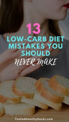 13 Low-Carb Diet Mistakes You Should Never Make - Trusted Healthy Hacks 13 Low-Carb Diet Mistakes You Should Never Makelose 20 pounds in 2 weeks Easy Diet Plan, Diet Plans To Lose Weight Fast, Lose Weight In A Month, Losing Weight Tips, Healthy Weight, Healthy Tips, How To Lose Weight Fast, Weight Loss, Healthy Habits