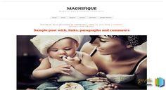 Magnifique Blogger Template blogger templates free blogger templates. Blogger free templates, 2014 blogger templates seo blogger themes free 2014