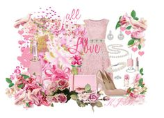 Everything is coming up roses...50 by kburton1971 on Polyvore featuring polyvore fashion style Dolce&Gabbana Ted Baker Miadora Blue Nile Ice Nicole Miller Tommy Hilfiger Essie WALL clothing