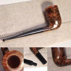 Piantanida n 23 Ebony chimney Formato/Shape: Chimney Bocchino/Mouthpiece material: Ebonite Filtro/Filter: NO Lunghezza/Length: 143 mm Altezza/Height: 55 mm Diametro esterno/Outside Diameter: 33 mm Diametro Fornello/Chamber Diameter: 17 mm Profondità fornello/Chamber Depth: 55 mm Weight: 40 gr Radica/Briar: ITALY Code: VP1623B #tobaccopipes #chimney #ebony #ebonite #piantanida #hobby #pipemaker #pipes #briar #madeinitaly #tobaccopipecommunity
