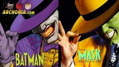 DC Comics Superheroes feat. Famous Movie Posters