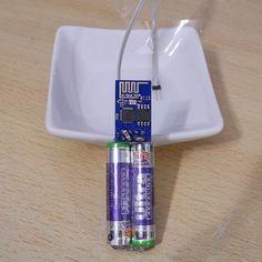 Funk-Wassermelder selbstbau Schaltung