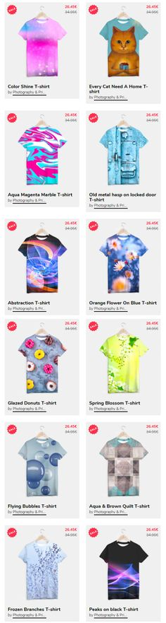 Sale Clothing Online!!! T-SHIRT 25% OFF!!! on @liveheroes Ideas Moda A unisex cut full print custom t-shirt made of best quality materials. An excellent gift and a perfect outfit. A t-shirt like no other is within the reach of your fingertips, all you need to do is grab it! All products available here: https://liveheroes.com/en/brand/oksana-fineart #tshirt #shirt #apparel #Sale #fashion #woman #clothes @photography_art_decor