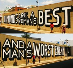 I love the story behind this work! Above - Johannesburg