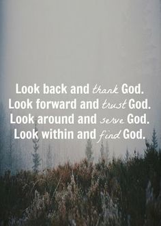 Get God in your life. God is my strength, my rock, my redeemer, my salvation.  thank you Lord for finding me.