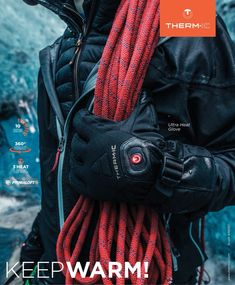 THERM-IC Sports Advertising, North Face Backpack, The North Face, Gloves, Backpacks, Bags, Collection, Fashion, Handbags