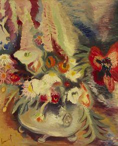 Flower Piece, c. 1954 - Alfred Lomnitz (1892–1953)