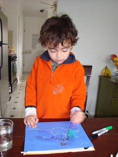 Montessori in Winter. Painting with Epsom Salts, when it dries, it crystallizes and looks like ice! Toddler Painting Activities, Craft Activities For Kids, Projects For Kids, Crafts For Kids, Group Activities, Winter Activities, Preschool Ideas, Craft Ideas, Painting For Kids