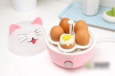 Cocinador de huevos gato