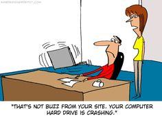 The Bad Buzz #humor #cartoon #tech