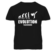 Evolution Tae Kwon Do Taekwondo T Shirt by TshirtShark on Etsy