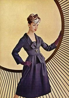 Vintage Fashion: awesome ad from 1956.