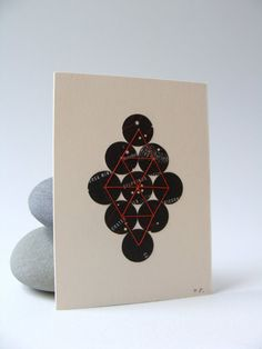Collectible modern art ORIGINAL ACEO star map dots  by selflesh, $20.00