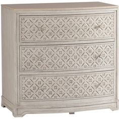 Gabby Furniture Pamela Chest (1,470 CAD) ❤ liked on Polyvore featuring home, furniture, storage & shelves, dressers, european furniture, drawer dresser, diamond furniture, marble furniture and drawer furniture
