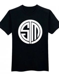 lol team tsm t shirt for men LPL 2015 League of Legends tee