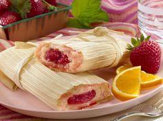 #Tamales de #Fresa p