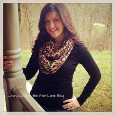 ....Loving Life In The Fab Lane....: Wardrobe Wednesday Dec.19 (DIY Scarf)