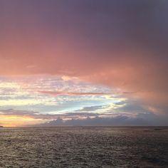 Sunset colors were amazing tonight.