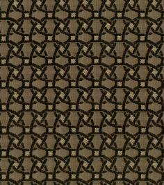 Home Decor Fabric-Waverly Terra Sole Arabo Ebony at Joann.com