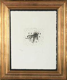 Lion for sale - Salvador Dali