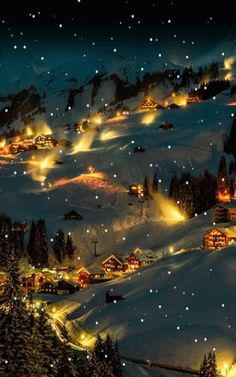 gif' You are in the right place about good morning GIF Here we offer you the most beautiful pictures about the christmas GIF you are looking for. Christmas Scenery, Winter Scenery, Christmas Pictures, Christmas Art, Winter Christmas, Vintage Christmas, Christmas Decorations, Merry Christmas Gif, Rustic Christmas