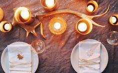 christmas table set #christmas #xmas #decor