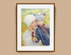 Maľovanie portrétu podľa fotografie - lubicabalentova.sk