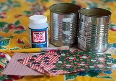 'How to Prepare a Metal Surface for Decoupage...!' (via eHow)