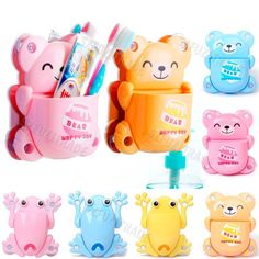 Suction Cup Toothbrush Holder Wall