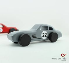 Wooden Toy Car, Quality Wooden Car for kids, boys, Classic Race Car, CL 05, Inspired by the Classic Mercedes 300SL  Let your child imagine that he/she is running in a race track, with this stunning wooden race car, inspired by one of the most charismatic cars of all time: the Mercedes 300