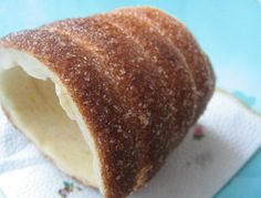 Hungarian funnel cake / Chimney cake - kürtőskalács