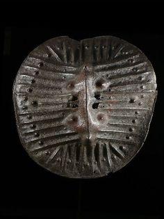 OROMO shield, Ethiopia, ca. 1950, (75 cm). Hide.